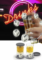 Dice & Drink Shotglas
