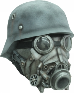 Chemical Warfare Mask-Ghoulish